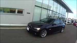 BMW試乗説明