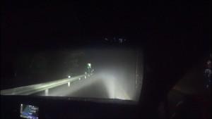 レクサスNX_霧&雨