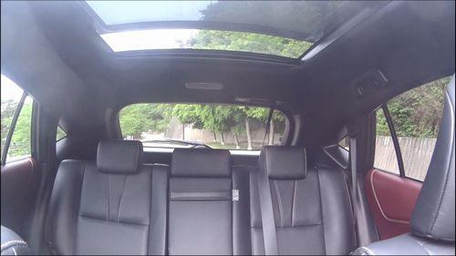 ハリアー前席から後部座席への眺め縮小版
