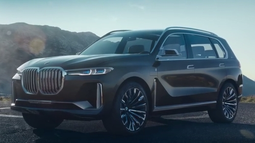 BMW X7発売予定