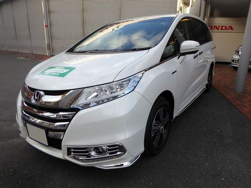 Honda_ODYSSEY_HYBRID・EX_Package_(DAA-RC4)_front