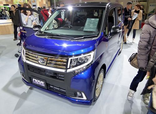 Osaka_Motor_Show_2015_(68)_-_Daihatsu_MOVE_CUSTOM_RS_-20th_Anniversary_Gold_Edition_SA_II-_(DBA-LA150S)
