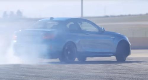 BMW M2 corner