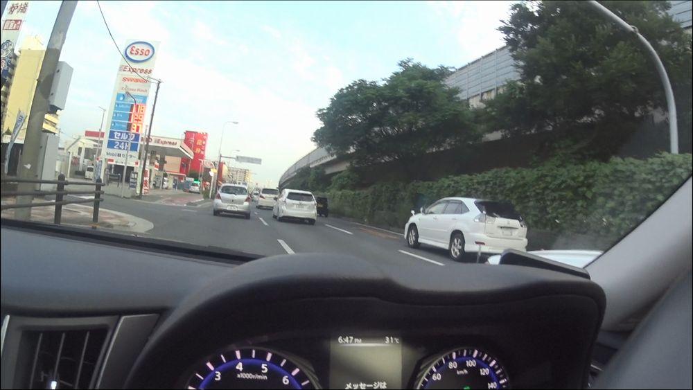 グローバルオートレンタカー近くのESSO