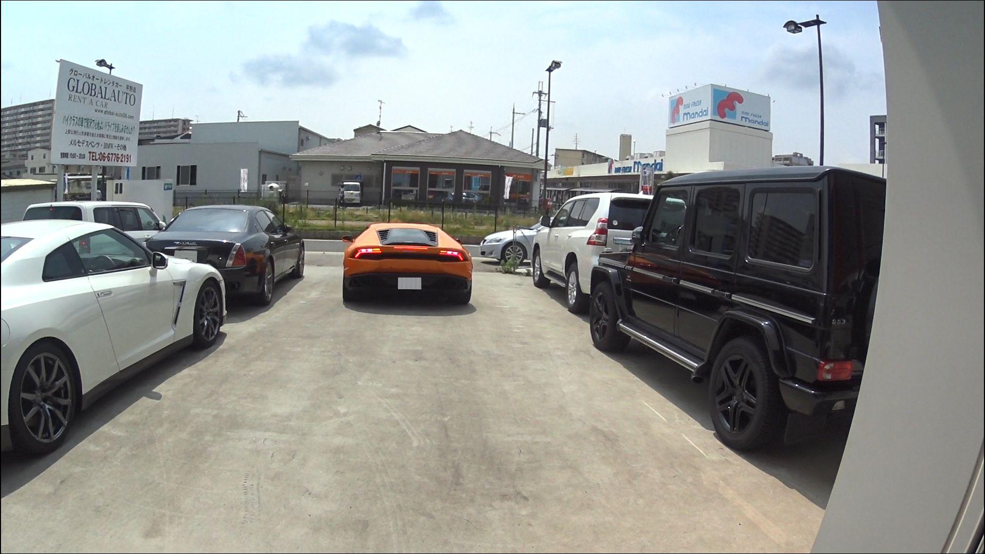 グローバルオートレンタカー:店舗から撮影