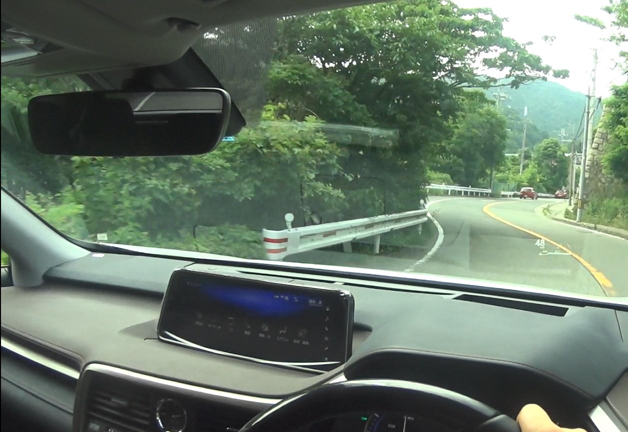 レクサスRX 峠道ドライブ