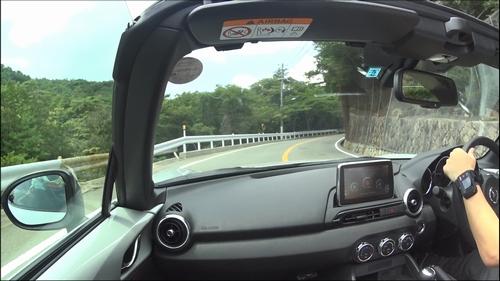 ロードスター 芦有ドライブウェイでドライブ