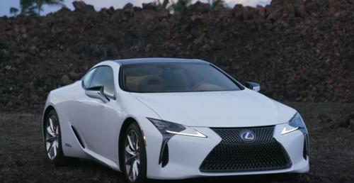 LC500展示車 レクサスディーラーにて撮影