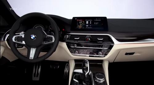 BMW5シリーズ内装
