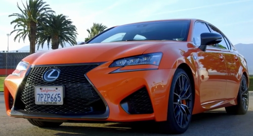 レクサスGS Fオレンジ